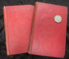 MEDALS OF CREATION. 2 VOLUMES. BY GIDEON MANTELL.  1853